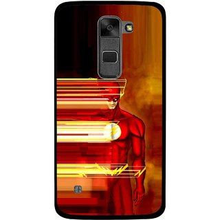 Snooky Printed Electric Man Mobile Back Cover For Lg Stylus 2 - Multi