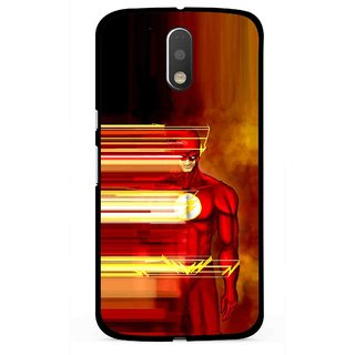 Snooky Printed Electric Man Mobile Back Cover For Moto G4 Plus - Multi