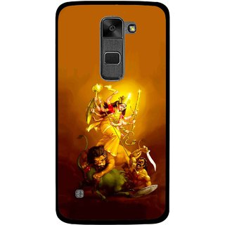 Snooky Printed Maa Durga Mobile Back Cover For Lg Stylus 2 - Multi