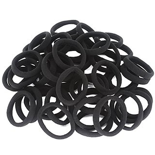 Buy 50 Pack Dreamlover Seamless Thick Cotton Hair Rubber Bands ... 83736f5f350