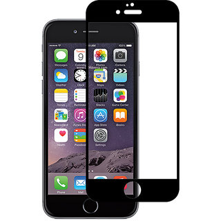 Stuffcool Mighty 2.5D Full Screen Tempered Glass Screen Protector for Apple iPhone 6 Plus / 6s Plus - Black