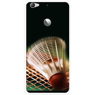 Snooky Printed Badminton Mobile Back Cover For Letv Le 1S - Multi