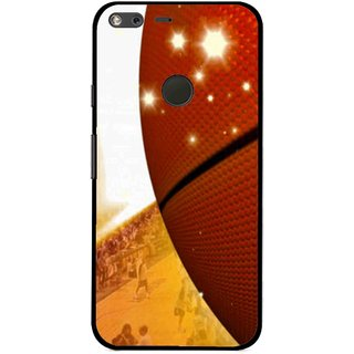Snooky Printed Basketball Club Mobile Back Cover For Google Pixel XL - Multi