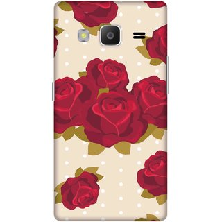 Print Opera Hard Plastic Designer Printed Phone Cover for samsung z32015-z3corporateedition Artistic red rose