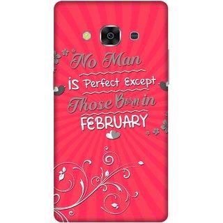 Print Opera Hard Plastic Designer Printed Phone Cover for samsunggalaxy j3pro Perfect man born in february