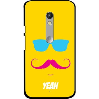 Snooky Printed Yeah Mobile Back Cover For Motorola Moto X Play - Multi