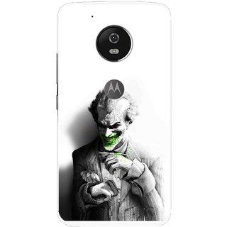 Snooky Printed Wilian Mobile Back Cover For Moto G5 - Multi