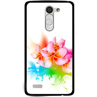 Snooky Printed Colorfull Flowers Mobile Back Cover For Lg L Fino - Multi