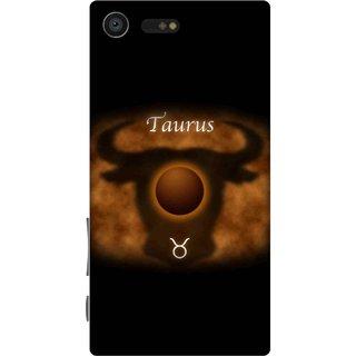 Print Opera Hard Plastic Designer Printed Phone Cover for sony xperiaxcompact Taurus