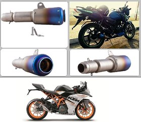 Bike Exhaust System - Buy Bike Silencer Online @ Low Prices in India