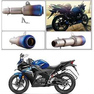 AutoStark Thick Barrel Slip On Exhaust Silencer Muffler For Honda CBR 150R