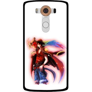 Snooky Printed Free Mind Mobile Back Cover For Lg V10 - Multi