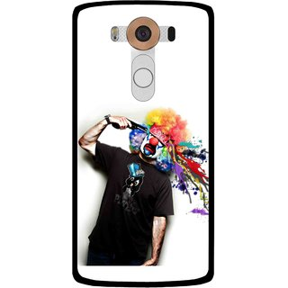 Snooky Printed Shooting Joker Mobile Back Cover For Lg V10 - Multi
