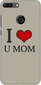 Coberta Case Designer Printed Back Cover For Huawei Honor 9 Lite - I Love u Mom Design