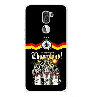 Snooky Printed Champions Mobile Back Cover For Coolpad Cool 1 - Multi