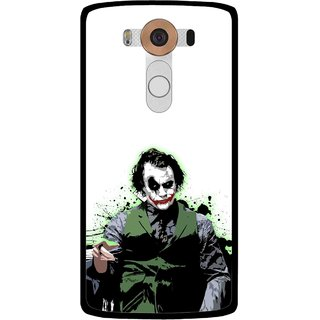 Snooky Printed Joker Mobile Back Cover For Lg V10 - Multi