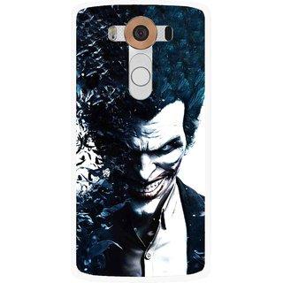 Snooky Printed Freaking Joker Mobile Back Cover For Lg V10 - Multi
