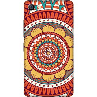 Print Opera Hard Plastic Designer Printed Phone Cover for vivo x7plus Flowers pattern