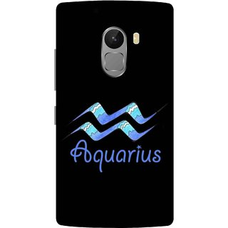 Print Opera Hard Plastic Designer Printed Phone Cover for lenovo a7010-vibek4note Aquarius black
