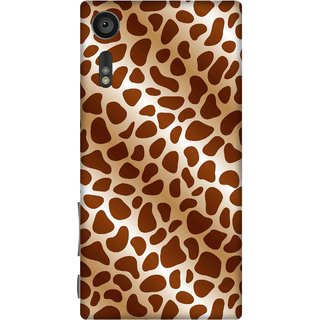 Print Opera Hard Plastic Designer Printed Phone Cover for sony xperiaxz Leopard print