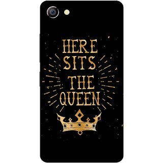Print Opera Hard Plastic Designer Printed Phone Cover for vivo x7plus Here Sits The Queen