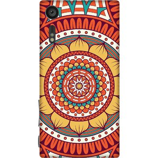 Print Opera Hard Plastic Designer Printed Phone Cover for sony xperiaxz Flowers pattern