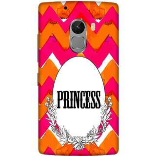 Print Opera Hard Plastic Designer Printed Phone Cover for lenovo a7010-vibek4note Princess with flowers