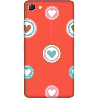 Print Opera Hard Plastic Designer Printed Phone Cover for vivo x7plus Hanging Hearts