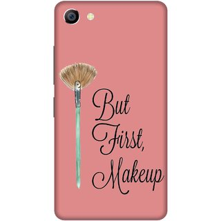 Print Opera Hard Plastic Designer Printed Phone Cover for vivo x7plus First Makeup