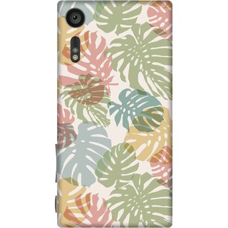 Print Opera Hard Plastic Designer Printed Phone Cover for sony xperiaxz Leaves
