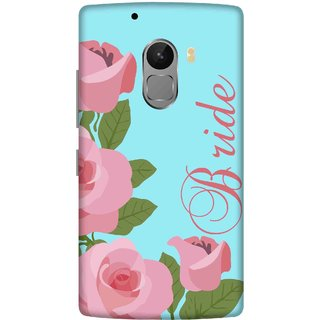 Print Opera Hard Plastic Designer Printed Phone Cover for lenovo a7010-vibek4note Bride pink flowers