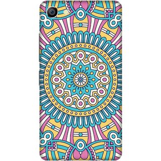 Print Opera Hard Plastic Designer Printed Phone Cover for vivo x7plus Colourful pattern
