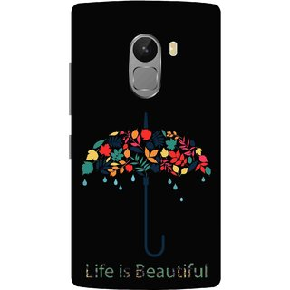 Print Opera Hard Plastic Designer Printed Phone Cover for lenovo a7010-vibek4note Life is beautiful umbrella