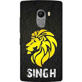 Print Opera Hard Plastic Designer Printed Phone Cover for lenovo a7010-vibek4note Singh