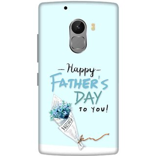 Print Opera Hard Plastic Designer Printed Phone Cover for lenovo a7010-vibek4note Bouquet For Father