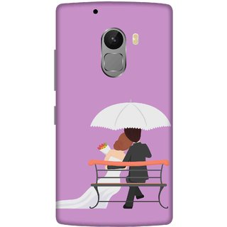 Print Opera Hard Plastic Designer Printed Phone Cover for lenovo a7010-vibek4note Couple sitting on chair
