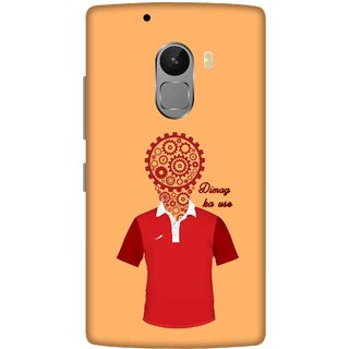 Print Opera Hard Plastic Designer Printed Phone Cover for lenovo a7010-vibek4note Dimag ka use
