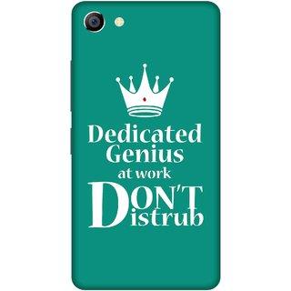 Print Opera Hard Plastic Designer Printed Phone Cover for vivo x7plus Dedicated genius do not disturb