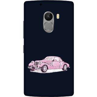 Print Opera Hard Plastic Designer Printed Phone Cover for lenovo a7010-vibek4note Luxury vintage car