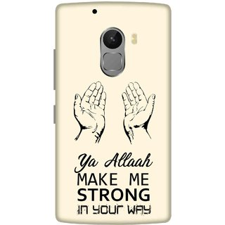 Print Opera Hard Plastic Designer Printed Phone Cover for lenovo a7010-vibek4note Pray