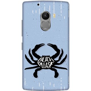 Print Opera Hard Plastic Designer Printed Phone Cover for lenovo a7010-vibek4note Beach please