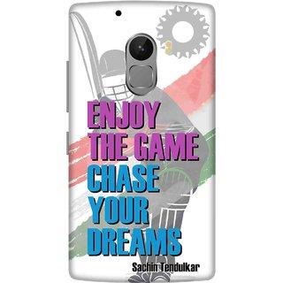 Print Opera Hard Plastic Designer Printed Phone Cover for lenovo a7010-vibek4note Sachin tendulkar quote