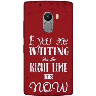 Print Opera Hard Plastic Designer Printed Phone Cover for lenovo a7010-vibek4note This is the right time in dark