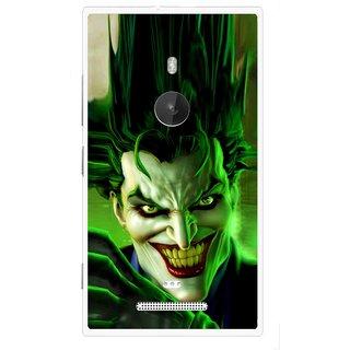 Snooky Printed Horror Wilian Mobile Back Cover For Nokia Lumia 925 - Multi