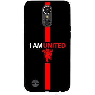 Snooky Printed United Mobile Back Cover For LG K10 2017 - Multi