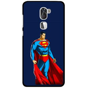 Snooky Printed Super Hero Mobile Back Cover For Coolpad Cool 1 - Multi