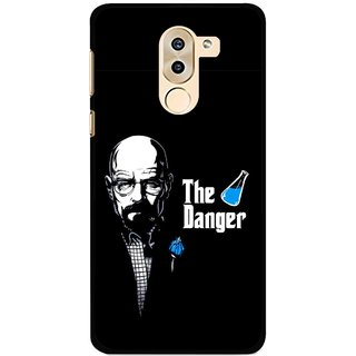 Snooky Printed The Danger Mobile Back Cover For Huawei Honor 6X - Multi