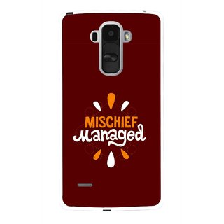 Snooky Printed Mischief Mobile Back Cover For Lg G4 Stylus - Multi