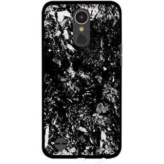 Snooky Printed Rocky Mobile Back Cover For LG K10 2017 - Multi