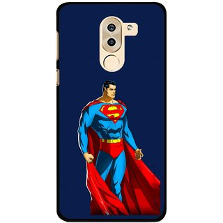 Snooky Printed Super Hero Mobile Back Cover For Huawei Honor 6X - Multi